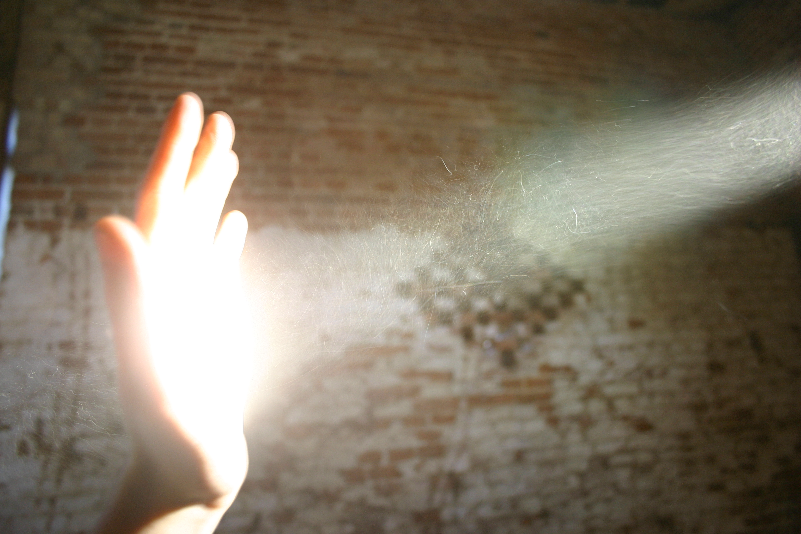A Course in Miracles, hand, light
