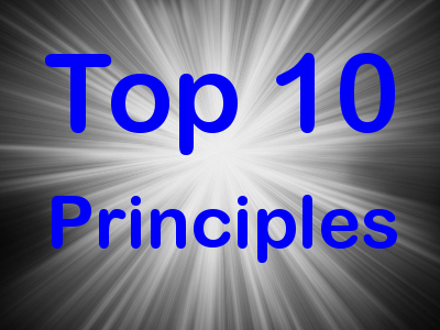 Top 10 Principles I Endeavor to Live By…