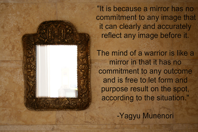 pure clarity, zen, mirror mind
